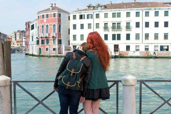 Looking introspectively at the canals in Venice