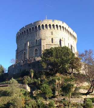 Windsor Castle in atypical beautiful English weather