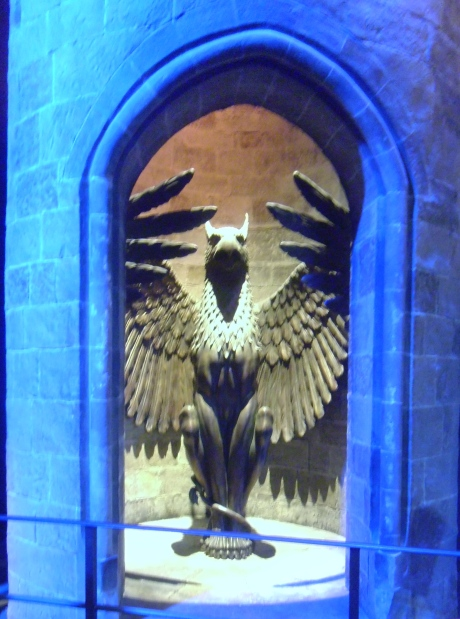 Dumbledore's office entrance!