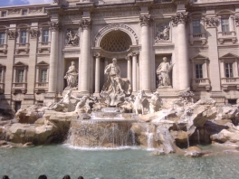 Trevi Fountain!