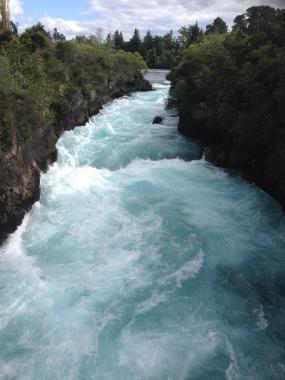 Huka Falls - genuinely no filter