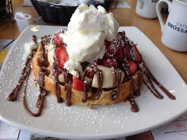 Waffles from L'Oeufrier